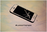 Cracked Iphone Tragedy Prints