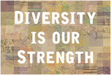 Diversity Is Our Strength Affiches