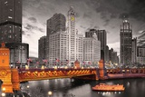 Chicago River Prints by Max Kendricks