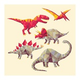 Geo Saurs Posters
