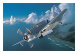 "Curtiss SB2C-5 ""Helldiver"" Print"