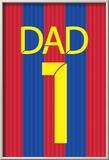 Barca Dad Posters