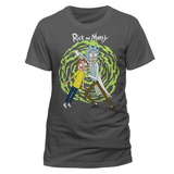 Rick and Morty - Spiral T-shirts