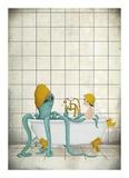L'heure du bain Affiches
