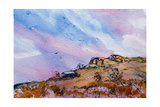 Rocky Outcrop Giclee Print by Margaret Coxall