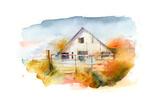 Barn in Pleasant Hill 2, 2016 Giclee Print by John Keeling