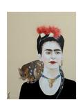Frida, 2017 Giclee Print by Susan Adams