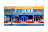 5 and Dime, 2016 Giclee Print by Anthony Butera