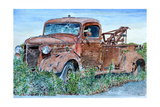 Vintage Tow Truck, 2007 Giclee Print by Anthony Butera