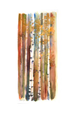 Birches in Autumn, 2013 Giclee Print by John Keeling