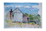 Barn, Sandy Hill Rd, Pa., 2003 Giclee Print by Anthony Butera