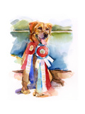 Phog with Awards; 2016 Giclee Print by John Keeling