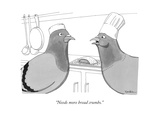 """Needs more bread crumbs."" - New Yorker Cartoon Premium Giclee Print by Charlie Hankin"