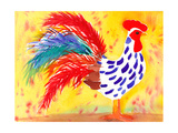 Farm House Rooster II Posters par Beverly Dyer