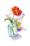 Tulip with Egg Basket, 2014 Giclee Print by John Keeling