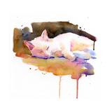 Snowball Sleeping, 2014 Giclee Print by John Keeling