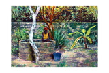 The Garden Well, 2017 Giclee Print by Tilly Willis