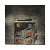 Parlé (View from a Forensic Mental Health Unit Window (Night) Giclee Print by Thomas MacGregor