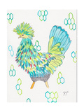 Funky Chicken 2 Posters par Beverly Dyer
