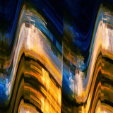 City at Night 4 Photographic Print by Ursula Abresch
