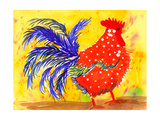 Farm House Rooster III Affiches par Beverly Dyer