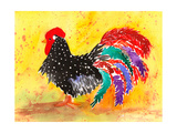 Farm House Rooster I Affiches par Beverly Dyer