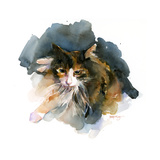 Calico Cat, 2015 Giclee Print by John Keeling