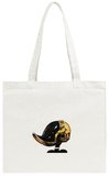 Daffy Punk Tote Bag Tote Bag by Alex Cherry