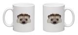 Portrait of a Hedgehog Mug Mug by  ant_art