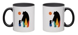 Go Home Mug Mug by Andy Westface