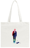C-3PO in a Suite Watercolor Tote Bag Tote Bag by Lora Feldman
