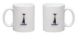 Koalagerfeld Mug Mug by  Mydeadpony