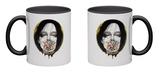 Black Blossom Mug Mug by  Minjae