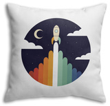 Up Throw Pillow Throw Pillow by Andy Westface
