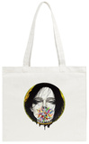 Black Blossom Tote Bag Tote Bag by  Minjae