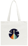 Up Tote Bag Tote Bag by Andy Westface