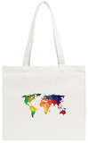 World Wire Map 1 Tote Bag Tote Bag by  NaxArt