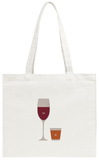 You'll Be My Glass Of Wine. I'll Be Your Shot Of Whiskey. Tote Bag Tote Bag