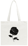 Fabric Rose Tote Bag Tote Bag by Ruben Ireland