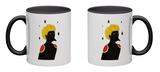 Blackbird Mug Mug by Diela Maharanie