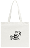 Breakfast Can Wait Tote Bag Tote Bag by Alex Cherry