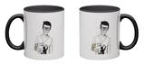 Hipsters Not Dead Mug Mug by Balazs Solti
