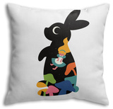 Alice Throw Pillow Throw Pillow by Andy Westface