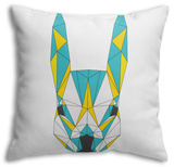 Abstract Squirre Throw Pillow Throw Pillow by  vanillamilk