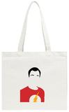 Sheldon Portrait Tote Bag Tote Bag by David Brodsky
