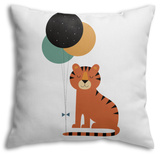 Time to Celebrate Throw Pillow Throw Pillow by Andy Westface