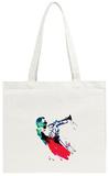 Miles Watercolor Tote Bag Tote Bag by Lora Feldman