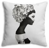 Marianna Throw Pillow Throw Pillow by Ruben Ireland