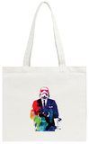 Trooper Boss Watercolor Tote Bag Tote Bag by Lora Feldman