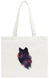 Universal Wolf Tote Bag Tote Bag by Robert Farkas